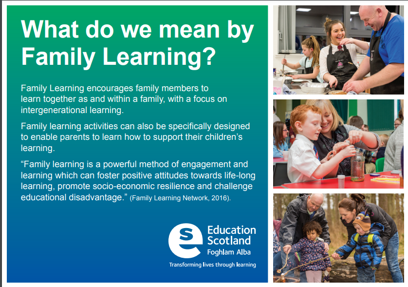 Family Learning – a neglected area in Northern Ireland